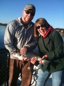Dave at 31 with Steph at Lake Oconee